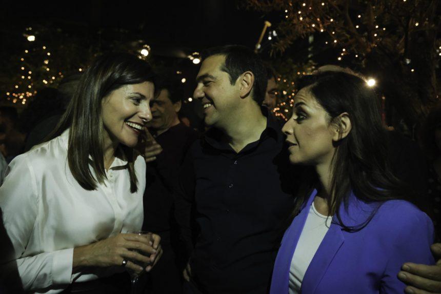 Αλέξης Τσίπρας – Μπέττυ Μπαζιάνα: Η συνάντηση και οι selfies με τον Αλέξη Γεωργούλη και τη Ραλλία! Βίντεο | tlife.gr