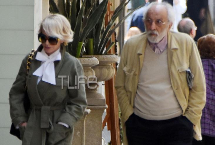 Νατάσα Καλογρίδη: Με chic look, βόλτα στο Κολωνάκι με τον Αλέξανδρο Λυκουρέζο! Φωτογραφίες | tlife.gr