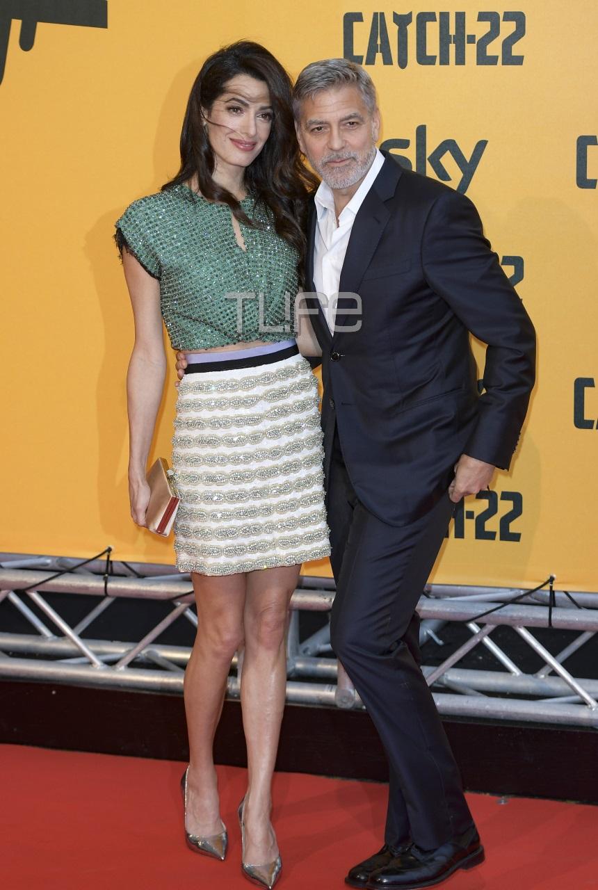 George Clooney – Amal Alamuddin: Πιασμένοι αγκαζέ στην Ρώμη για την επίσημη πρεμιέρα του χολιγουντιανού σταρ! Φωτογραφίες