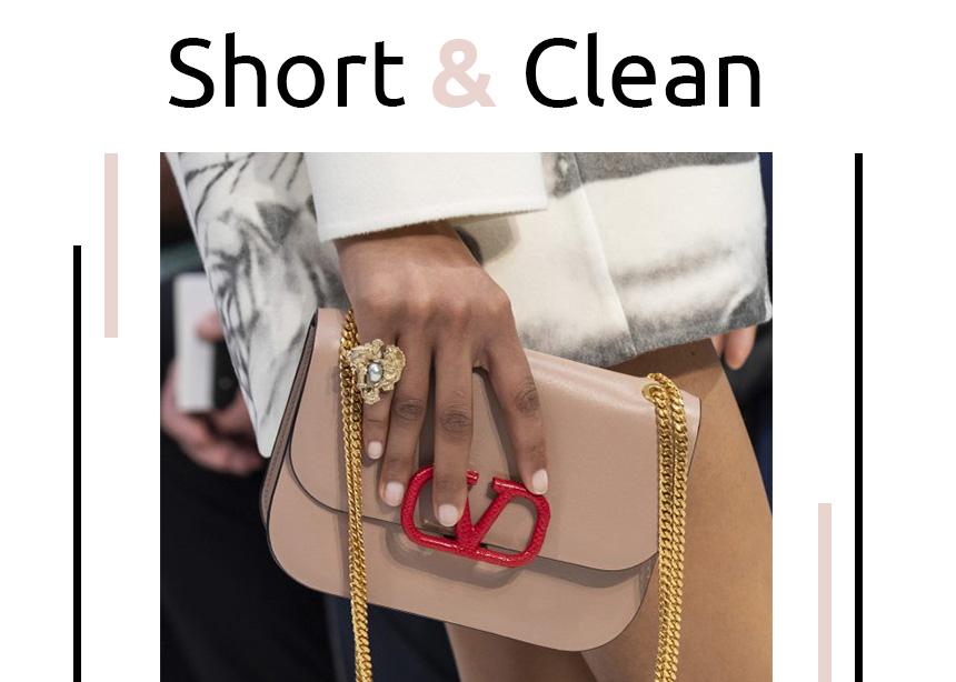 Short and clean: 10 ιδέες για να εμπνευστείς για το επόμενό σου μανικιούρ, ειδικά αν έχεις κοντά νύχια!