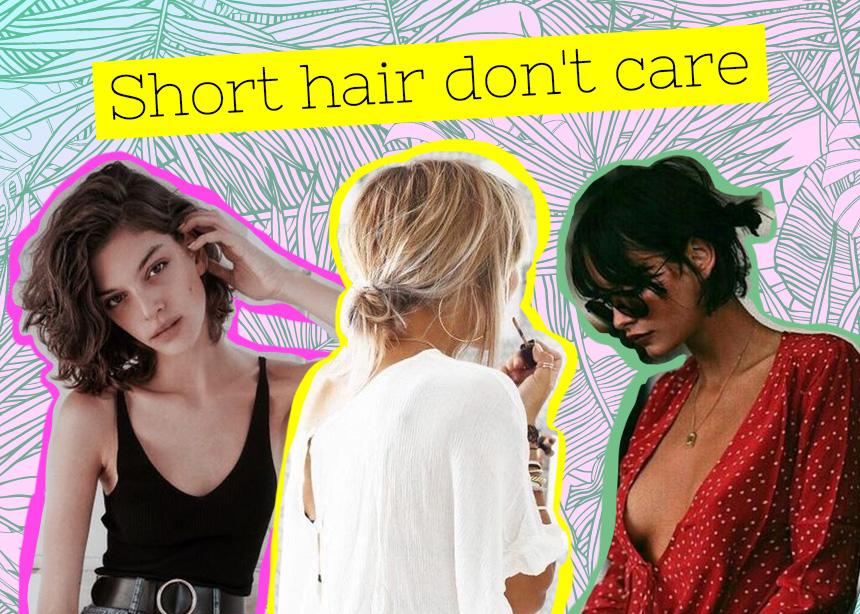 Η ζωή μετά το καρέ! 7 χτενίσματα που μπορείς να κάνεις αν έχεις κοντά μαλλιά!
