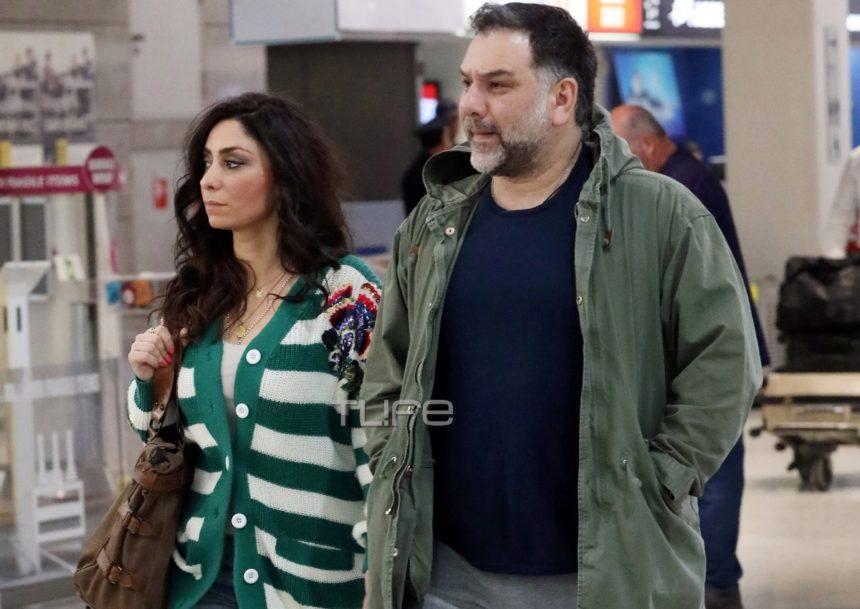 Γρηγόρης Αρναούτογλου – Νάνσυ Αντωνίου: Είναι αχώριστοι! Στο αεροδρόμιο με προορισμό τη Θεσσαλονίκη [pics]