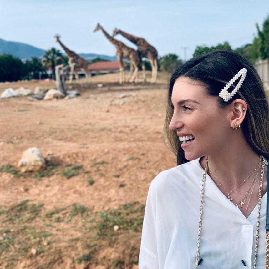Αθηνά Οικονομάκου: Στον ζωολογικό κήπο μαζί με τους άνδρες της ζωής της!