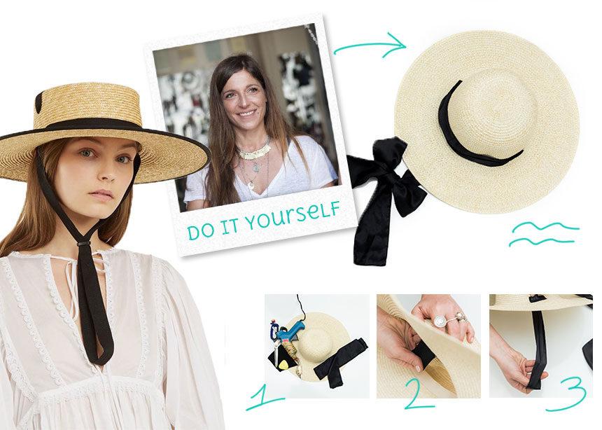 Πως θα μετατρέψεις ένα παλιό καπέλο σε στιλάτο raffia hat! | tlife.gr