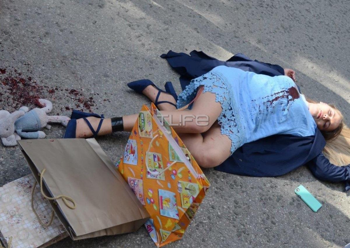 """Το TLIFE στα γυρίσματα της """"Γυναίκας χωρίς όνομα"""" – Ο πληρωμένος δολοφόνος πυροβολεί την Μαρίνα [pics]"""