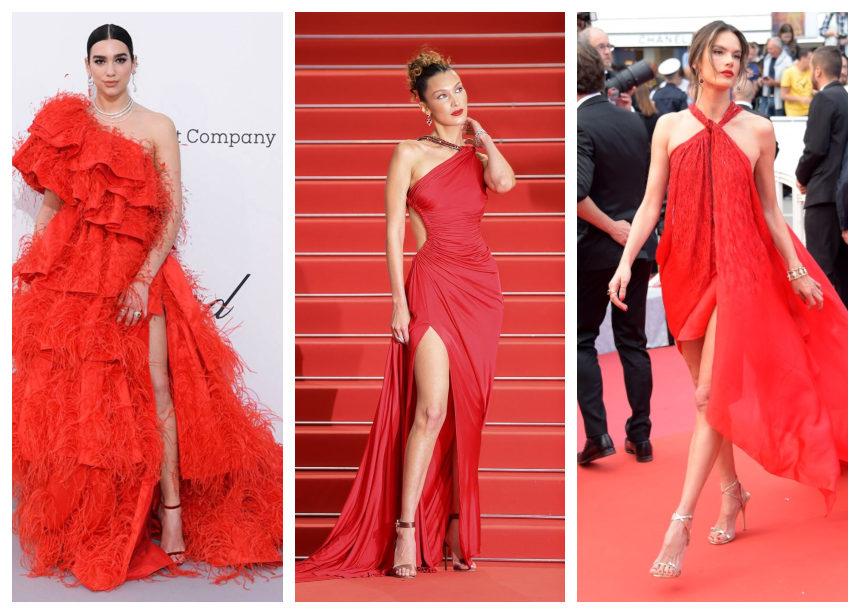 Oι star με εντυπωσιακές κόκκινες gown