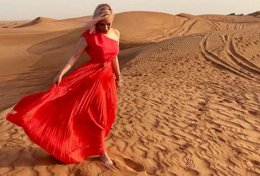 Λάουρα Νάργες: Μαγεμένη από το ταξίδι της στο Dubai! Φωτογραφίες και βίντεο
