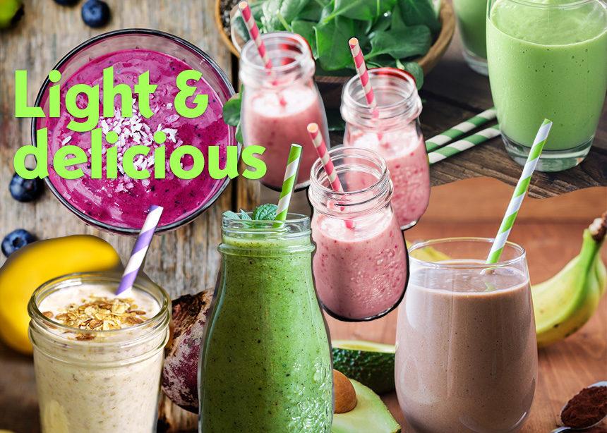 6 συνταγές για smoothies, που θα γίνουν το αγαπημένο σου πρωινό | tlife.gr