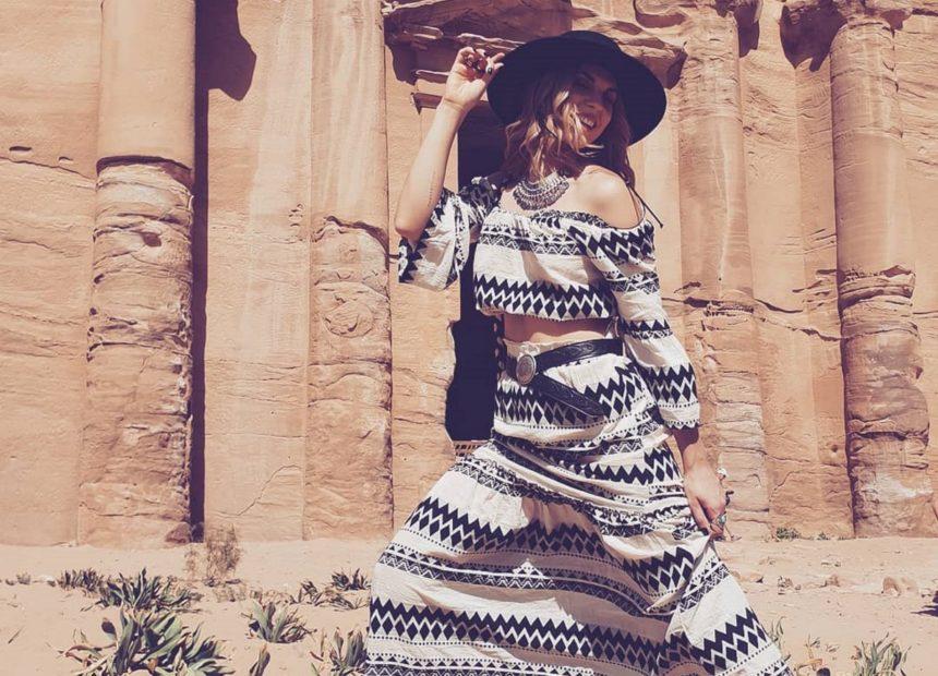 Μαντώ Γαστεράτου: Ταξίδι με τον σύζυγό της στην Ιορδανία – Τα επιβλητικά μέρη που συνάντησαν [pics]
