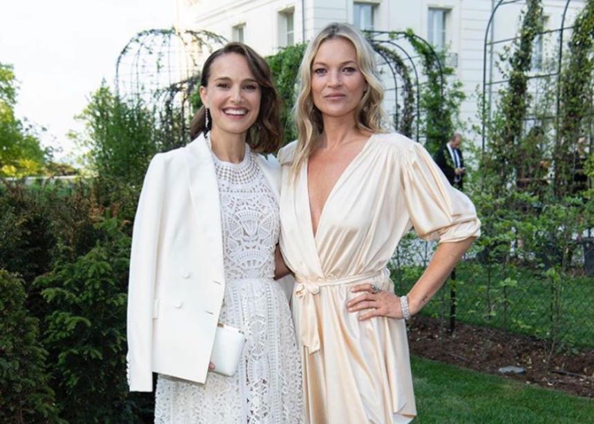 Kate Moss και Νatalie Portman με coktail εμφανίσεις σε λαμπερό party!