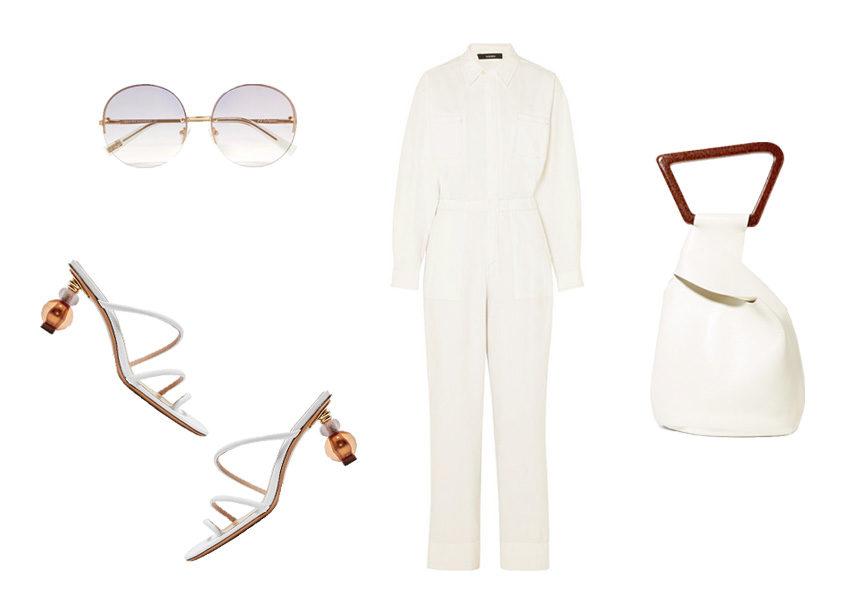 Total white: Φόρεσε το με sporty ύφος | tlife.gr
