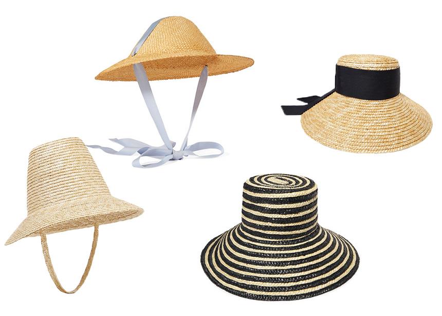 Ψάθινα καπέλα, το απόλυτα summer trends