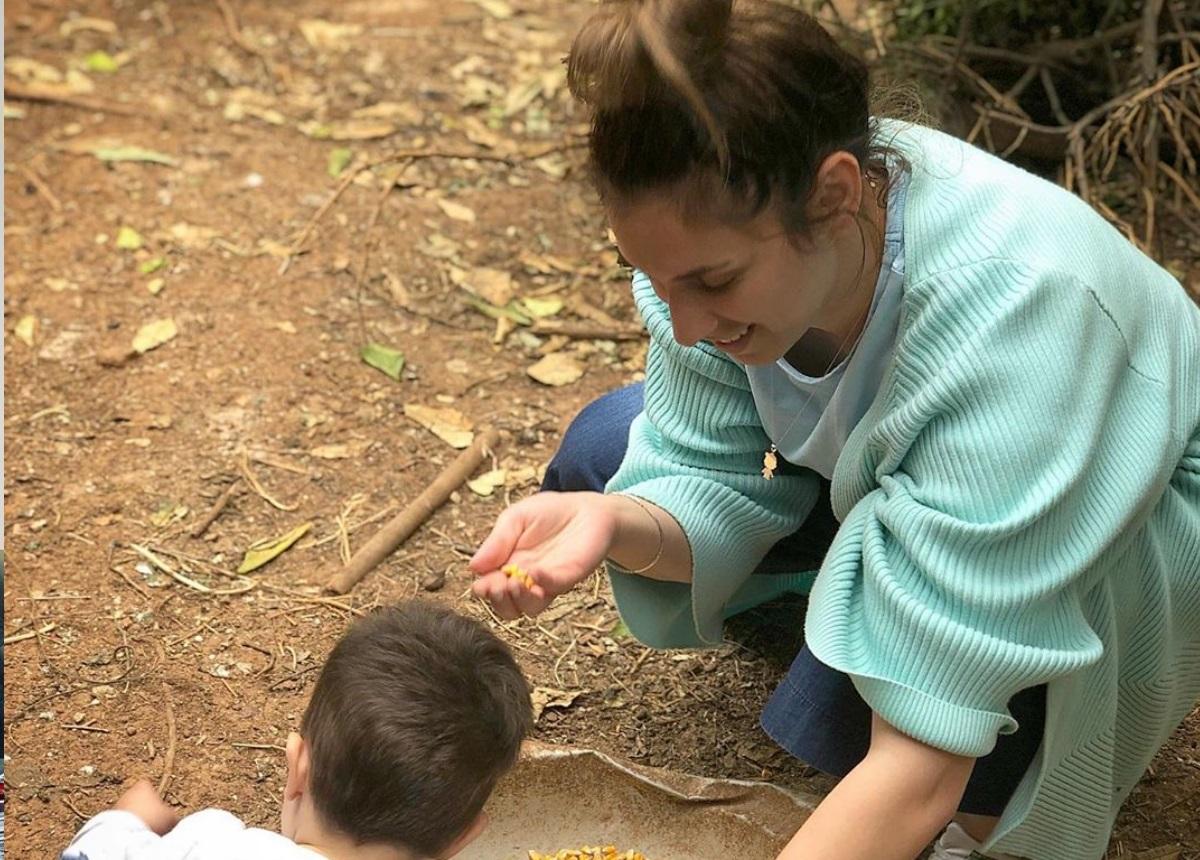 Αντιγόνη Ψυχράμη: Απόδραση στο Αίγιο με τον 19 μηνών γιο της! [pics]