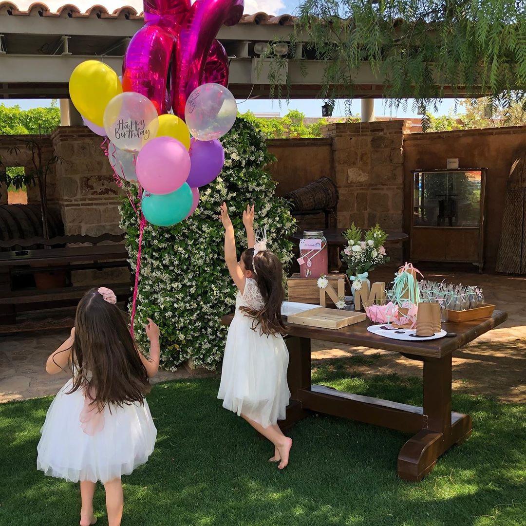 Σταματίνα Τσιμτσιλή: Παιδικό πάρτυ – υπερπαραγωγή για τις κόρες της! (εικόνες)
