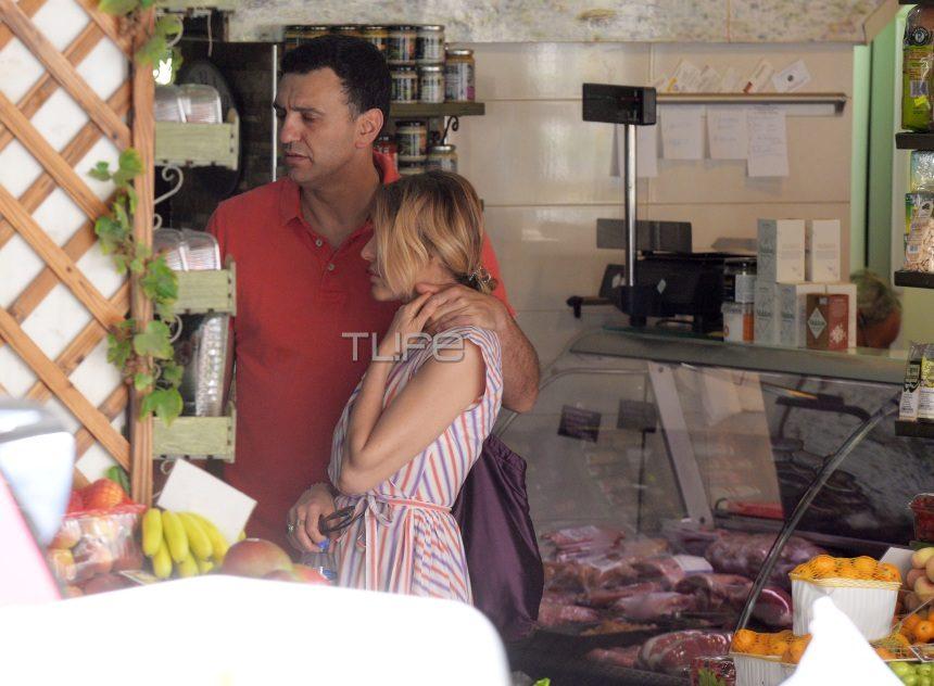 Αποκλειστικό: Τζένη Μπαλατσινού – Βασίλης Κικίλιας: Ερωτευμένοι, πιασμένοι χέρι χέρι, στο κέντρο της Αθήνας! [pics] | tlife.gr