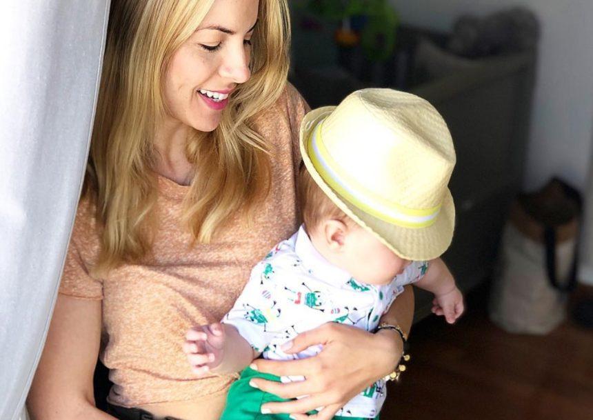 Μαρία Λουίζα Βούρου: Αποκάλυψε πόσα κιλά ζυγίζει και τι ύψος έχει ο 8 μηνών γιος της, Ιάσονας!   tlife.gr