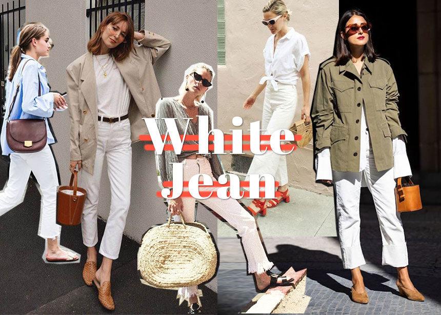 Λευκό jean: Πως να το φορέσεις τώρα!   tlife.gr