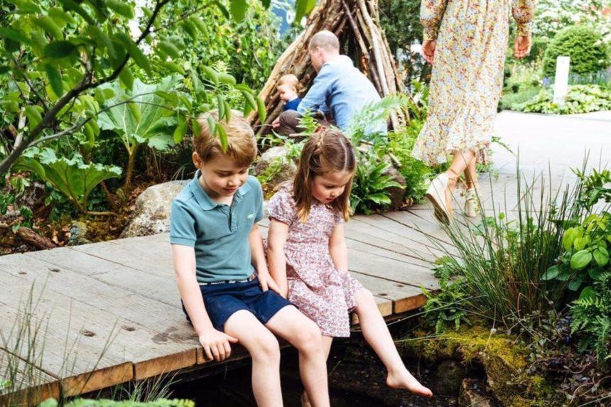 Πρίγκιπας William – Kate Middleton: Ανέμελα παιχνίδια με τα τρία τους παιδιά στους βασιλικούς κήπους! | tlife.gr