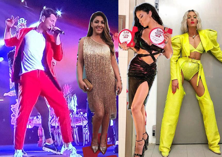 SMA 2019: Λαμπερή βραδιά με Έλληνες καλλιτέχνες και hot εμφανίσεις on stage! [pics] | tlife.gr