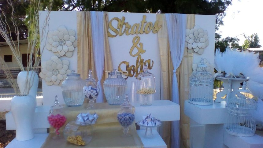 Στράτος Τζώρτζογλου-Σοφία Μαριόλα: Δες τον εντυπωσιακό στολισμό της εκκλησίας λίγο πριν τον γάμο! Αποκλειστικές φωτογραφίες | tlife.gr