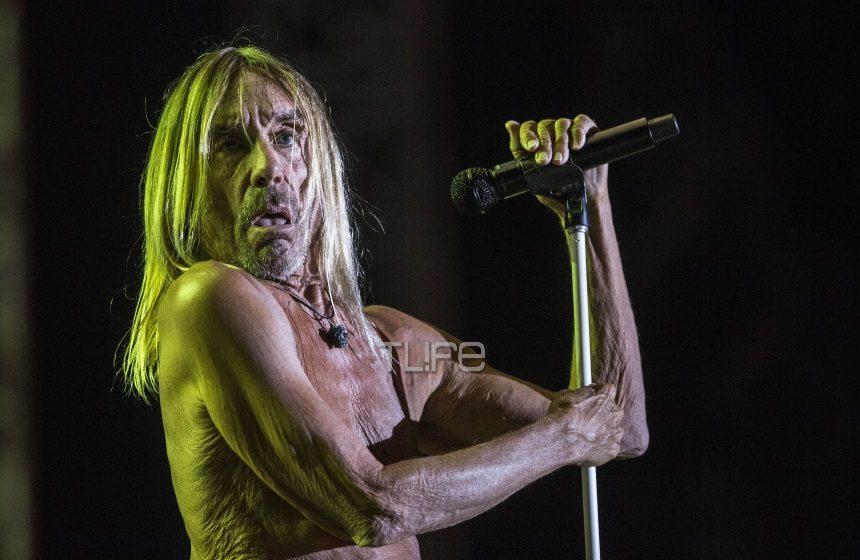 Ο Iggy Pop εμφανίστηκε ημίγυμνος και ξεσήκωσε το αθηναϊκό κοινό! [pics,vid] | tlife.gr