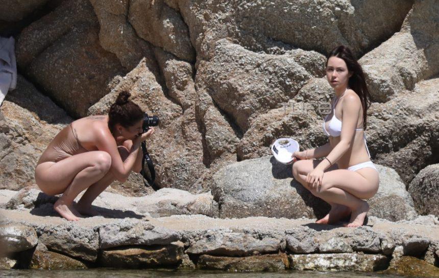 «Κινδύνευσε» για μια φωτογραφία στη Μύκονο η κόρη του Eros Ramazzotti! [pics]