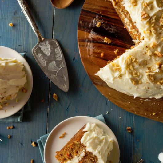 Συνταγή για βίγκαν κέικ καρότου   tlife.gr