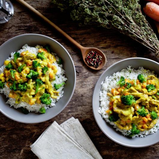 Ταϊλανδέζικο ρύζι με φιστικοβούτυρο | tlife.gr