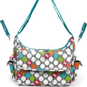 Τσάντα-αλλαξιέρα Fisher Price Diaper Bag Dots 68