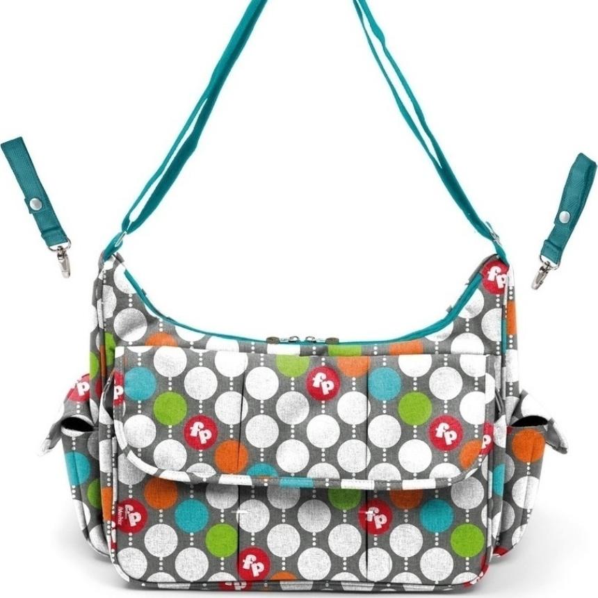 Τσάντα-αλλαξιέρα Fisher Price Diaper Bag Dots 68 | tlife.gr
