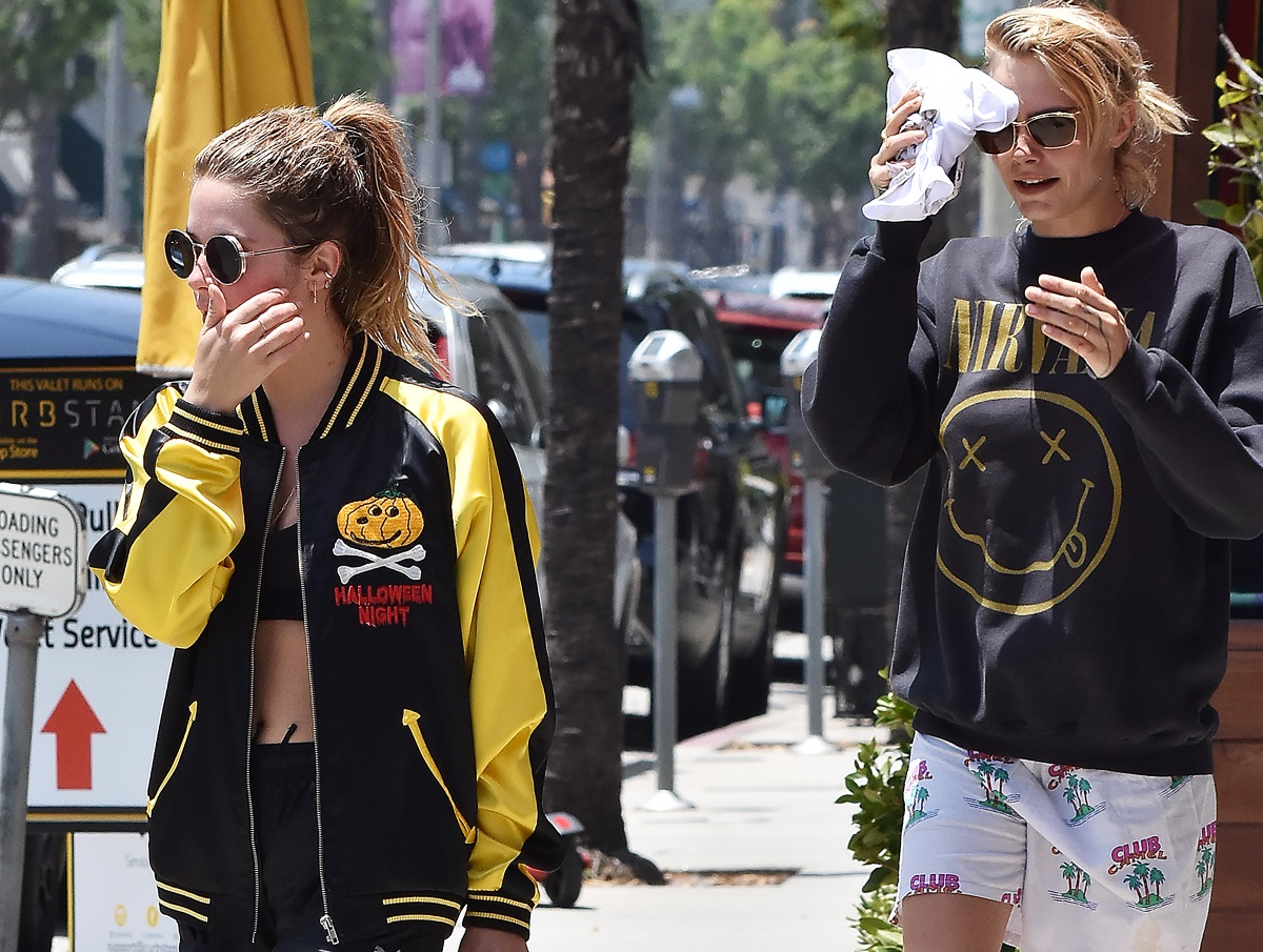 "Cara Delevigne: Επιβεβαίωσε τη σχέση της με την Ashley Benson! ""Είναι η αληθινή μου αγάπη"""