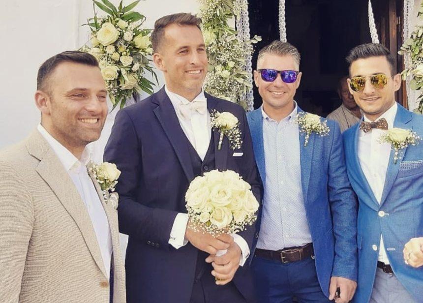 Ο Κωνσταντίνος Συμεωνίδης από το Masterchef έγινε κουμπάρος! [pics] | tlife.gr