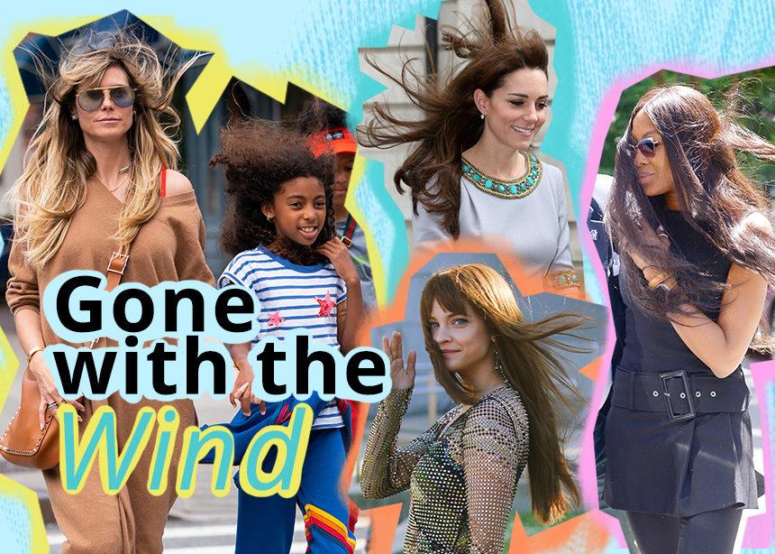 Gone with the wind! Πώς να χτενίσεις τα μαλλιά σου όταν φυσάει! | tlife.gr