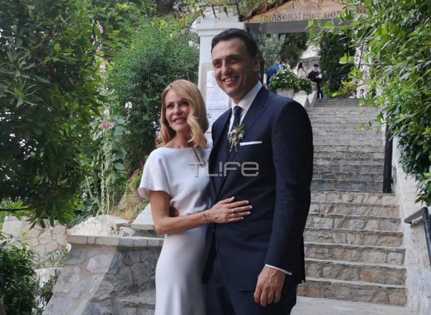 Τζένη Μπαλατσινού – Βασίλης Κικίλιας: Παντρεύτηκαν! Όλα όσα έγιναν στον γάμο τους! [pics, video] | tlife.gr