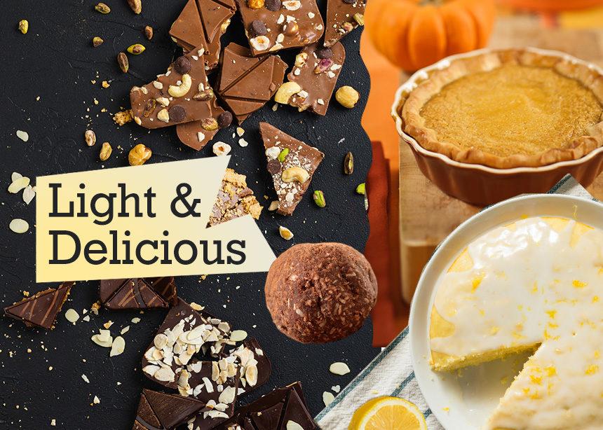 Θα θες κι εσύ να φτιάξεις αυτές τις 5 συνταγές για γλυκά με λίγες θερμίδες | tlife.gr