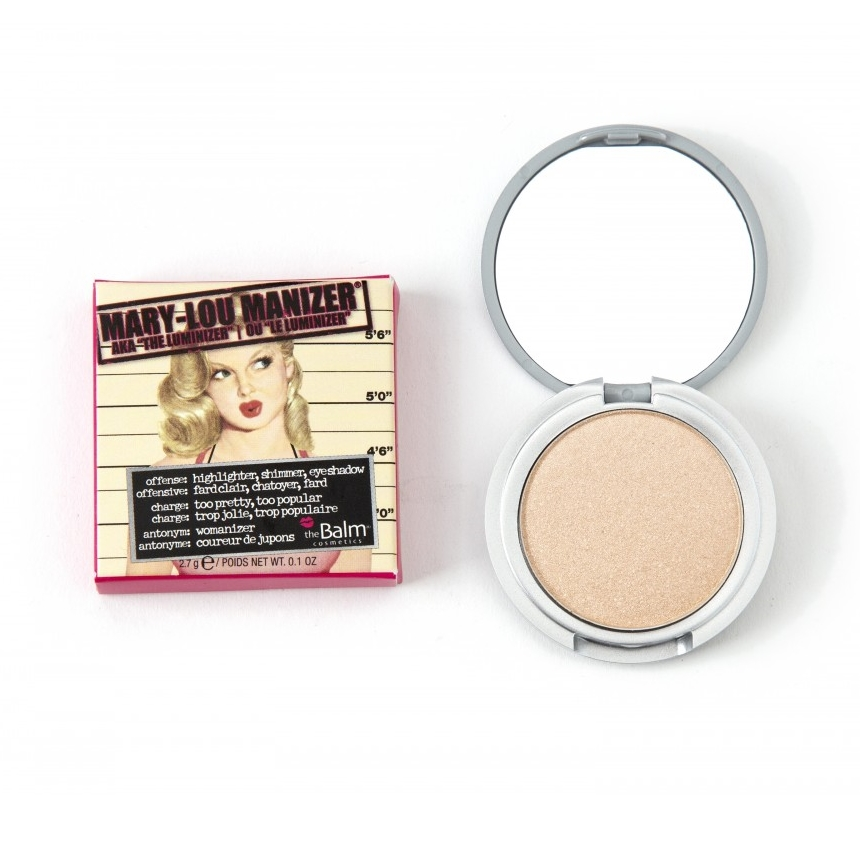 Πούδρα λάμψης σε travel size Mary-Lou Manizer | tlife.gr