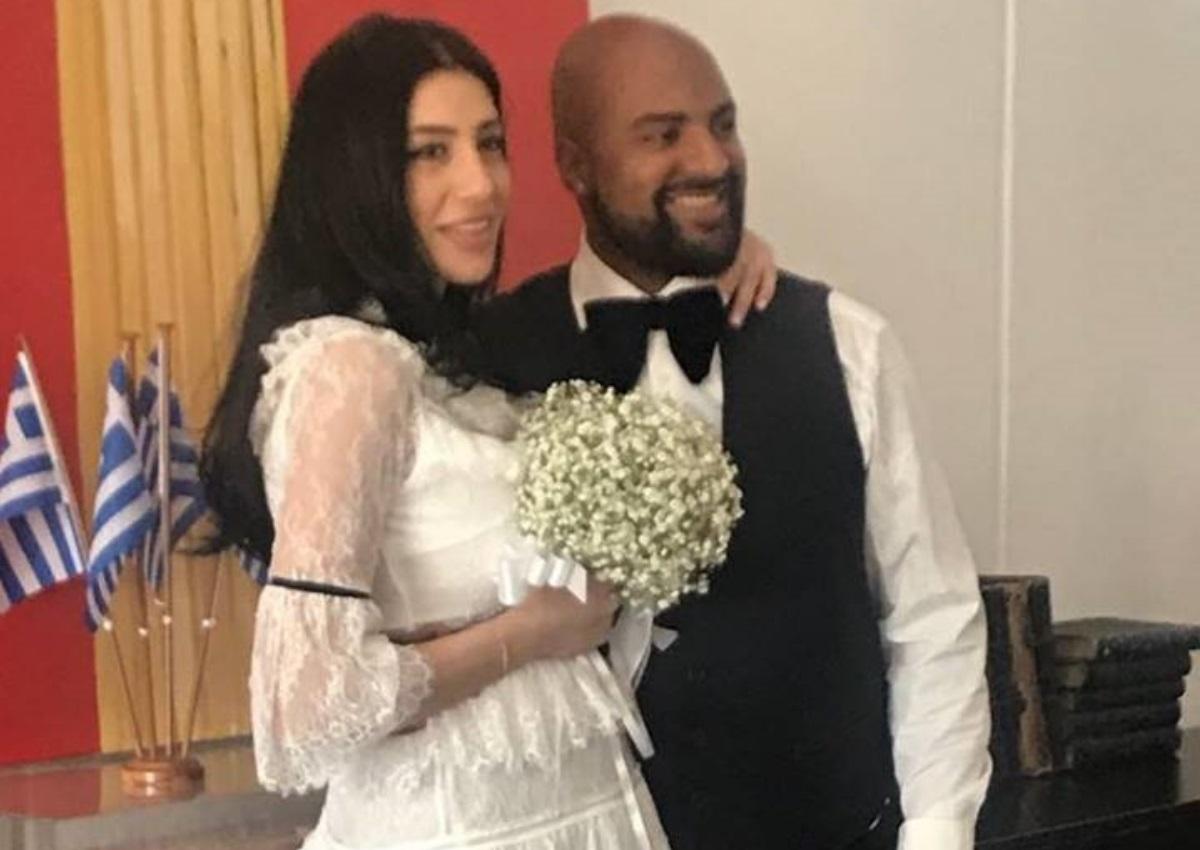 Ησαΐας Ματιάμπα – Βασιλική Καλανιώτη: Παντρεύτηκαν με θρησκευτικό γάμο, κάτω από άκρα μυστικότητα!