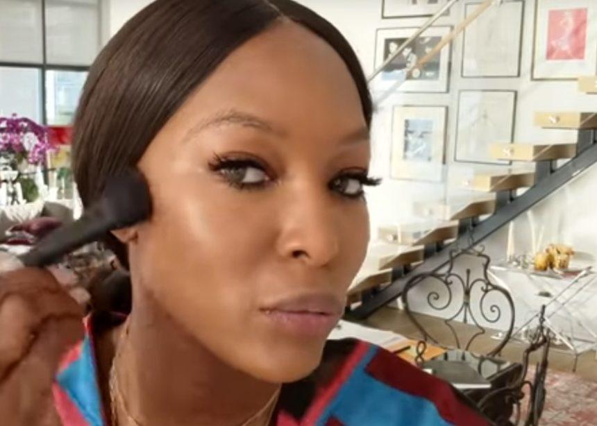 Η Naomi Campbell μας δείχνει πώς βάφεται σε 10 λεπτά! | tlife.gr