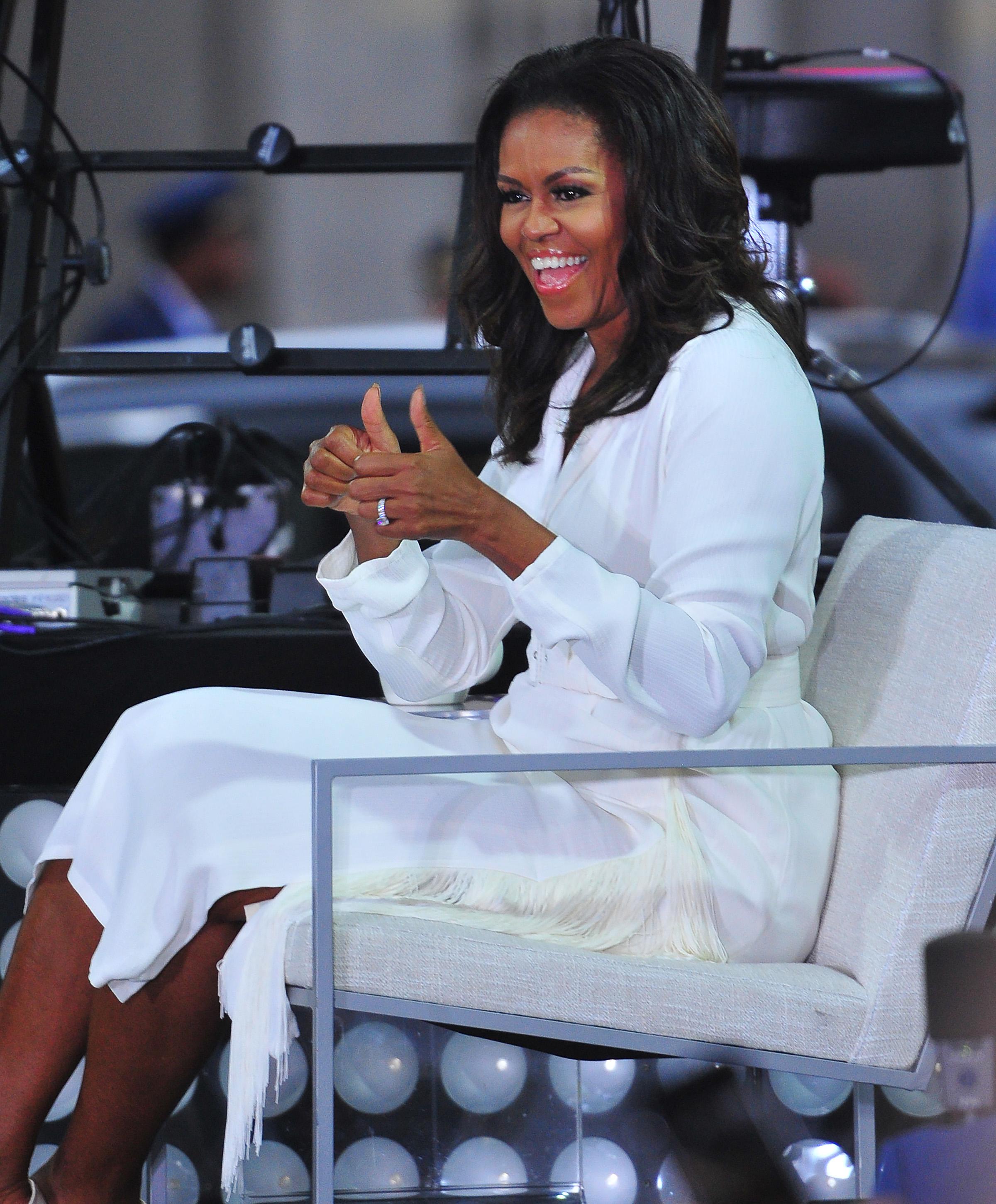 Πώς είναι αλήθεια τα φυσικά μαλλιά της Michelle Obama!