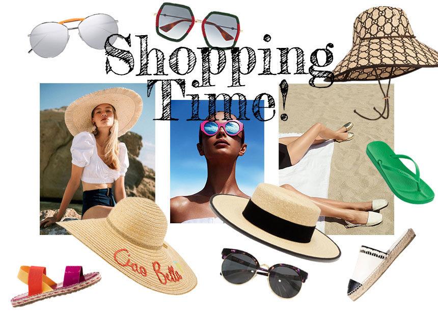 Πάμε παραλία: Τι παπούτσια, καπέλο και γυαλιά θα φορέσεις ώστε να έχεις το τέλειο beach look! | tlife.gr