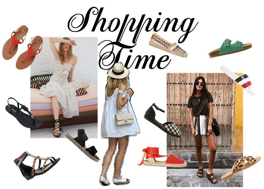 Flat καλοκαιρινά παπούτσια: Σανδάλια, εσπαντρίγιες και slides για να διαλέξεις αυτό που σου ταιριάζει! | tlife.gr