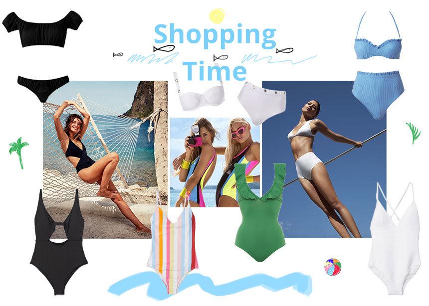 Μαγιό:Μαύρα, λευκά ή χρωματιστά, η fashion editor προτείνει! | tlife.gr