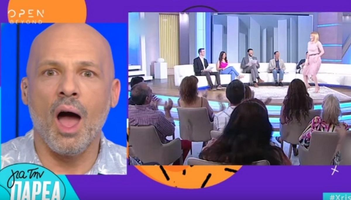 """Τρελάθηκε ο Νίκος Μουτσινάς με τον χορό της Τατιάνας Στεφανίδου στο """"Μαζί σου""""! Video"""