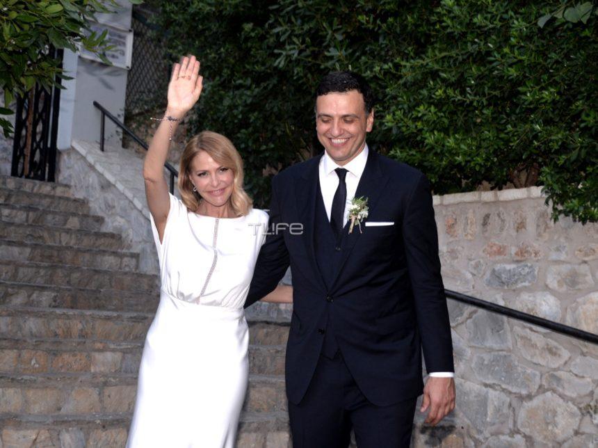 Τζένη Μπαλατσινού – Βασίλης Κικίλιας: 10 φωτογραφίες που δεν είδες από τον παραμυθένιο γάμο τους! | tlife.gr