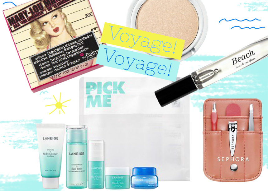 10 προϊόντα σε travel size για να πάρεις μαζί σου το τριήμερο!   tlife.gr