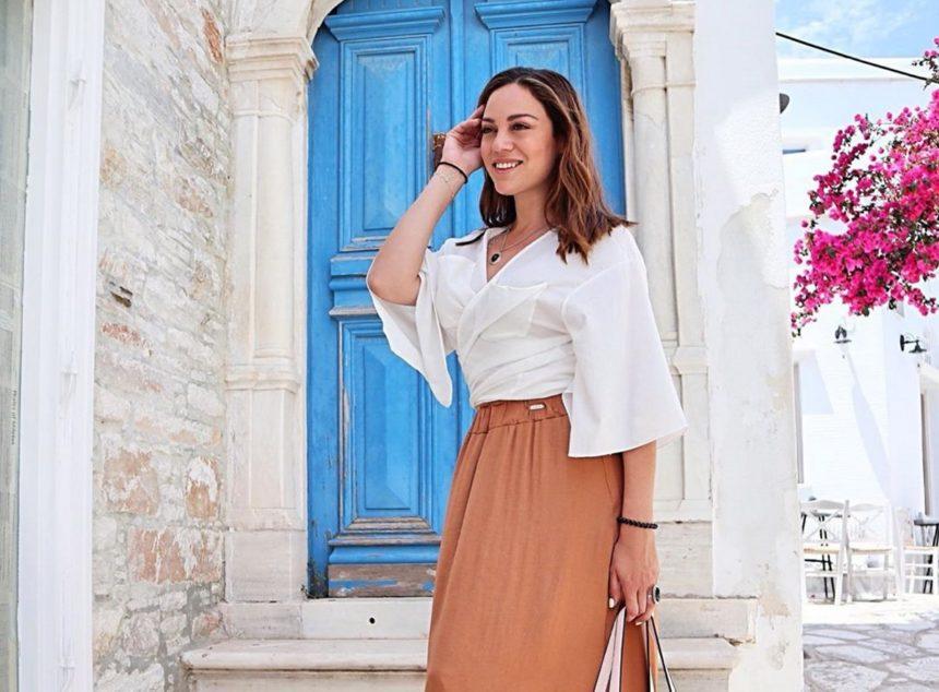 Μπάγια Αντωνοπούλου: Απόδραση στην Τήνο για την παρουσιάστρια!   tlife.gr