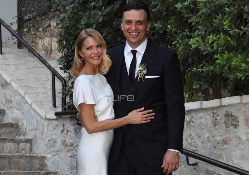 Τζένη Μπαλατσινού – Βασίλης Κικίλιας: Το φωτογραφικό άλμπουμ του γάμου τους στον Λυκαβηττό!   tlife.gr