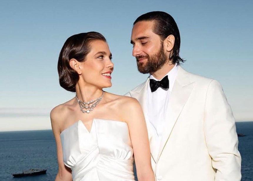 H πριγκίπισσα Charlotte Casiraghi επέλεξε για τον γάμο της κάτι που φορούσε η γιαγιά της Grace Kelly. | tlife.gr