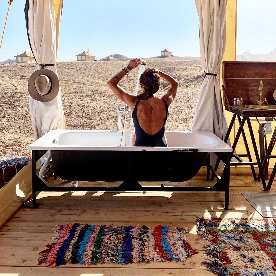 Ιωσήφ Μαρινάκης - Χρύσα Καλπάκη: Κάνουν διακοπές στην έρημο του Μαρακές! Εντυπωσιακές φωτογραφίες