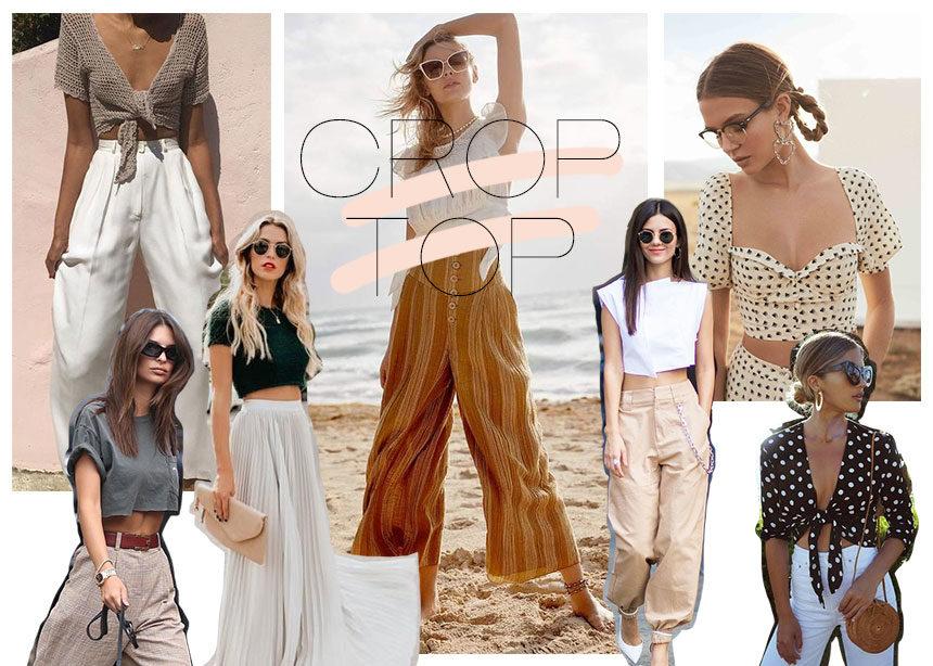 Crop top: Πως να φορέσεις σωστά το top-τοπ του καλοκαιριού! | tlife.gr